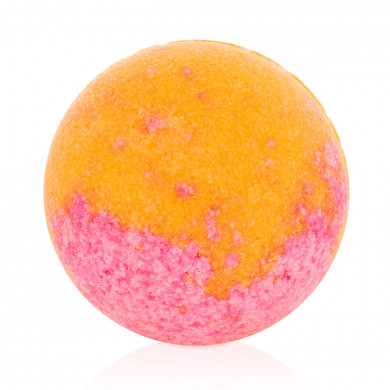 Plum bath bubble-ball