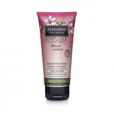 Apple blossom regenerating body polish