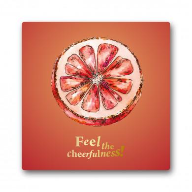 Grapefruit Cheerfulness Greeting Card