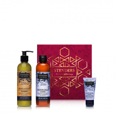 Pampering Blueberry Gift Set