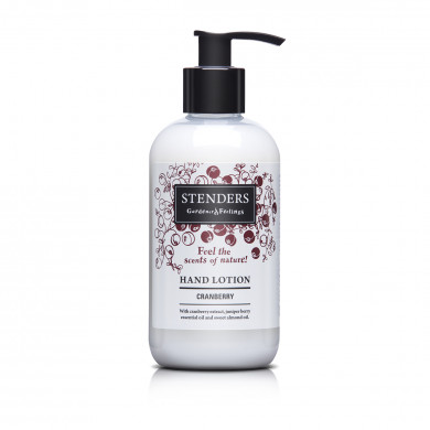 Cranberry hand lotion