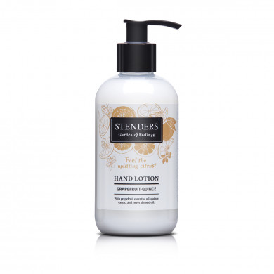 Grapefruit-quince hand lotion