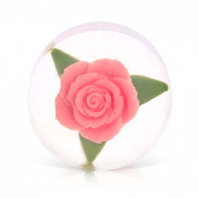 Pink Ice Rose Soap