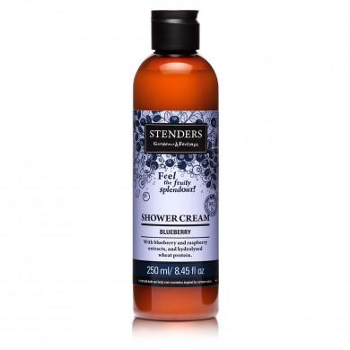 Blueberry shower cream