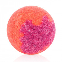 Raspberry-blackberry bath bubble-ball
